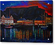 Harbour Lights Acrylic Print by Michael Durst