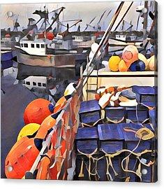 Harbour Ville Acrylic Print