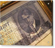 Acrylic Print featuring the photograph Hard Currency by Lindie Racz