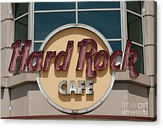 Hard Rock Cafe Acrylic Print