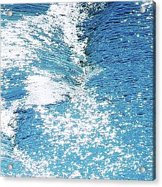 Hard Water Abstract Acrylic Print