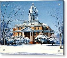 Hardin County Courthouse Acrylic Print