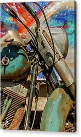 Harley Davidson - American Icon II Acrylic Print by Bill Gallagher