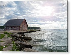 Acrylic Print featuring the photograph Hardy Gallery by Joel Witmeyer