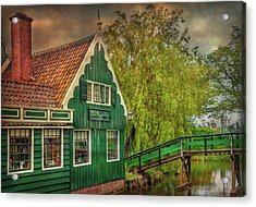 Acrylic Print featuring the photograph Haremakerij At The Brook by Hanny Heim