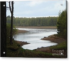 Harlaw Reservoir 1 Acrylic Print