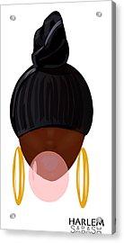 Harlem Pop Acrylic Print by Sabash Hq