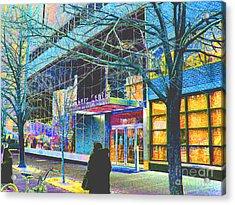 Harlem Street Scene  Acrylic Print