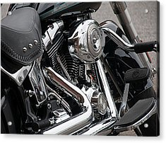 Harley Chrome Acrylic Print