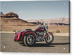 Harley-davidson Freewheeler Acrylic Print