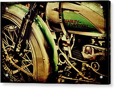 Acrylic Print featuring the photograph Harley Davidson by Joel Witmeyer