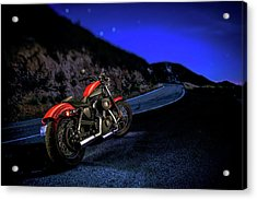 Harley Davidson Nightster Acrylic Print by YoPedro