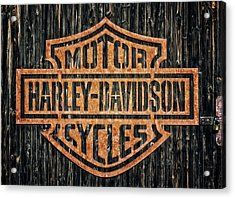 Harley - Davidson Acrylic Print