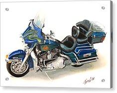 Harley Electraglyde Acrylic Print by Ferrel Cordle