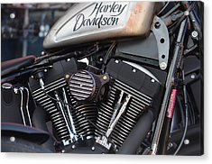 Harley Heaven Acrylic Print by Anthony Robinson