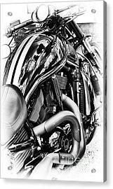 Harley Night Rod Acrylic Print