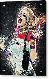 Harley Quinn Acrylic Print