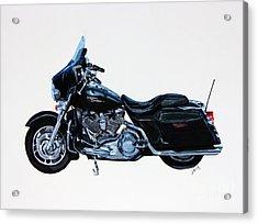 Harley Davidson Street Glide Acrylic Print by Janet Felts