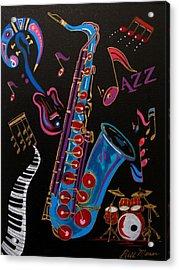 Harmony In Jazz Acrylic Print