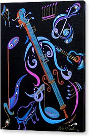 Harmony In Strings Acrylic Print