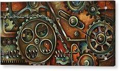 Harmony Acrylic Print by Michael Lang