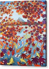Harmony No.2 Autumn Acrylic Print by Sumiyo Toribe