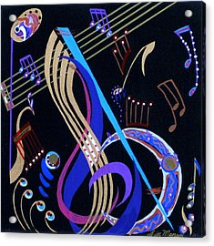 Harmony Vi Acrylic Print by Bill Manson