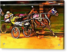 Harness Race #2 Acrylic Print