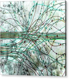 Acrylic Print featuring the digital art Harnessing Energy 3 by Angelina Vick