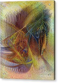 Harnessing Reason Acrylic Print by John Robert Beck