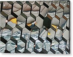 Harpa Concert Hall # 3 Acrylic Print by Allen Beatty
