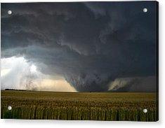 Harper Kansas Tornado 2  Acrylic Print