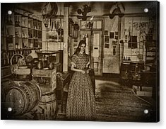 Harpers Ferry General Store Acrylic Print by Bill Cannon