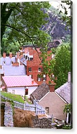 Harpers Ferry Overlook Acrylic Print by Larry Darnell