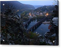 Harpers Ferry Wv Acrylic Print by Bernard Chen