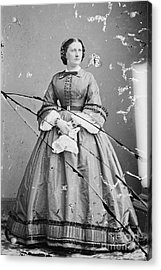Harriet Lane, First Lady Acrylic Print by Science Source