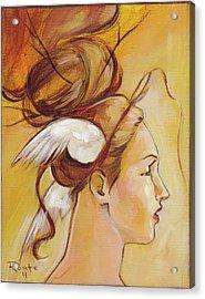 Harriett Acrylic Print by Jacque Hudson