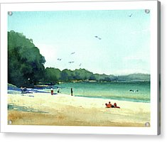 Harrington Beach, Wisconsin Acrylic Print
