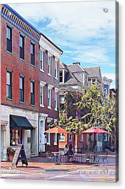 Harrisburg Pa - Coffee Shop Acrylic Print