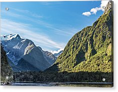 Acrylic Print featuring the photograph Harrison Cove Sunlight by Gary Eason