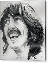 Harrison's Smile Acrylic Print by Matt Burke