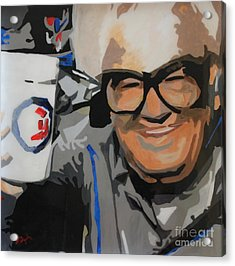 Harry Caray Acrylic Print