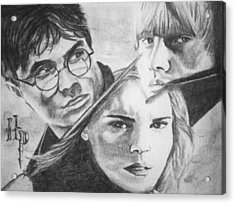 Harry Potter Acrylic Print by Madelyn Mershon