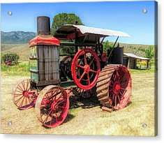 Hart Parr 1911 30 60 Tractor Acrylic Print