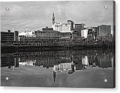 Hartford Reflections Acrylic Print by Karol Livote