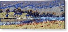 Hartley Dam Acrylic Print by Graham Gercken