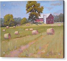 Hartville, Ohio Farm Acrylic Print by Todd Baxter