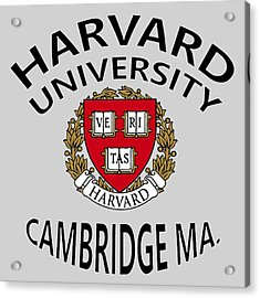 Harvard University Cambridge M A  Acrylic Print