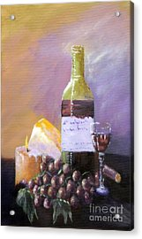 Harvest Acrylic Print by Annette Tan
