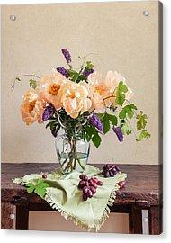 Harvest Bouquet Acrylic Print